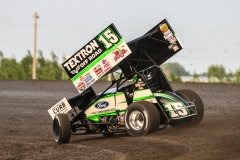 Donny Schatz - Red River Valley Speedway. Photo by Mike Spieker | Speedway Shots