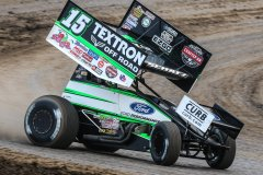 Donny Schatz - River Cities Speedway. Photo by Mike Spieker | Speedway Shots