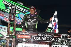 Donny Schatz - Tuscarora 50 - Photo by Michael Fry