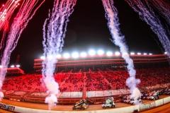 Donny Schatz at Bristol Motor Speedway