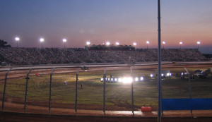 The Dirt Track at Charlotte. May 25, 2007