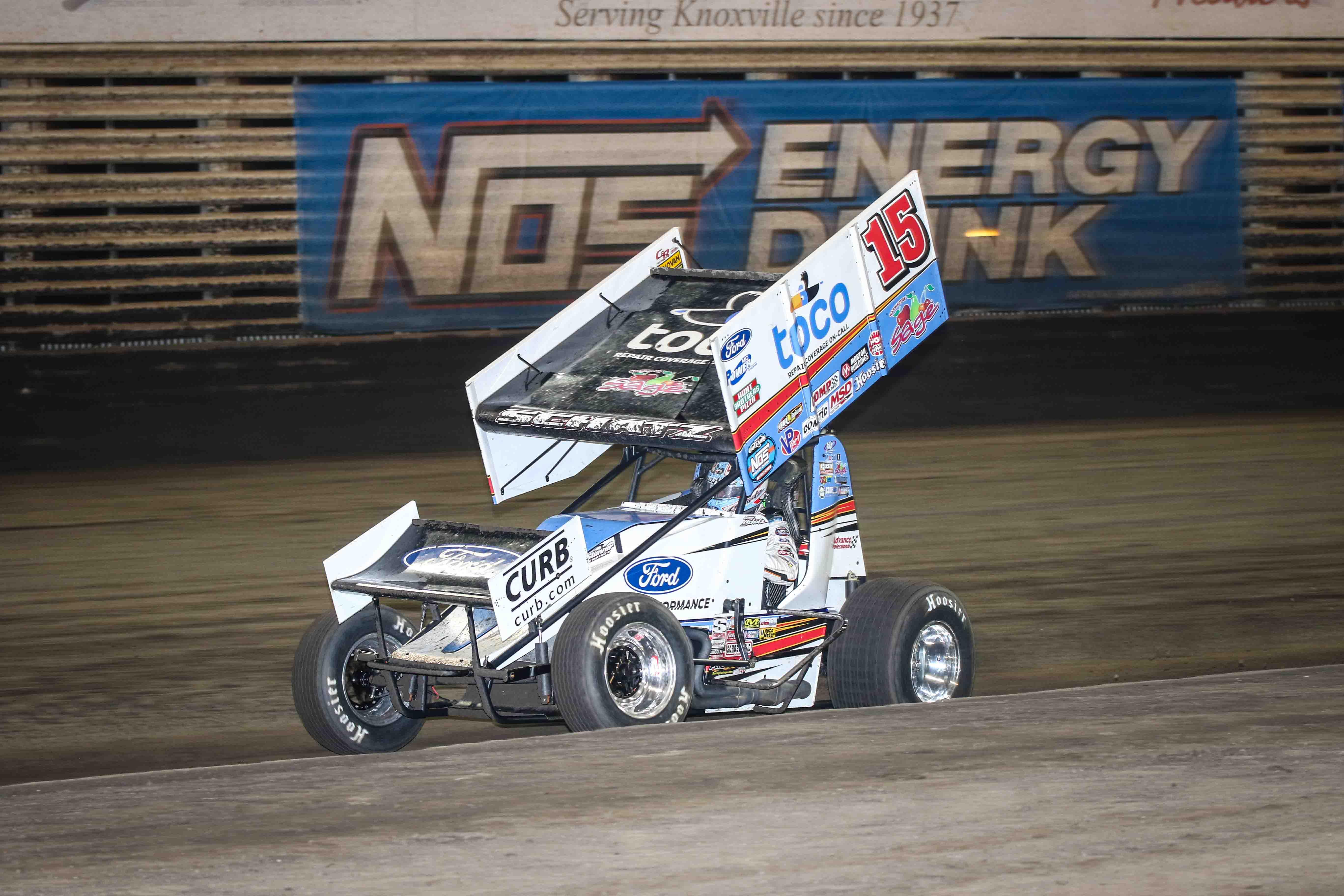 Donny Schatz, Knoxville Raceway, Knoxville Natioanls