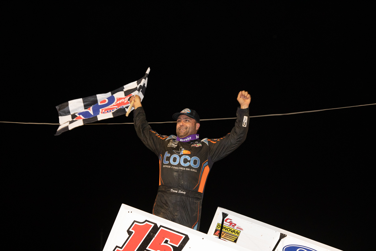 Donny Schatz, World of Outlaws, Sprint Cars, Port Royal Speedway, Nittany Showdown