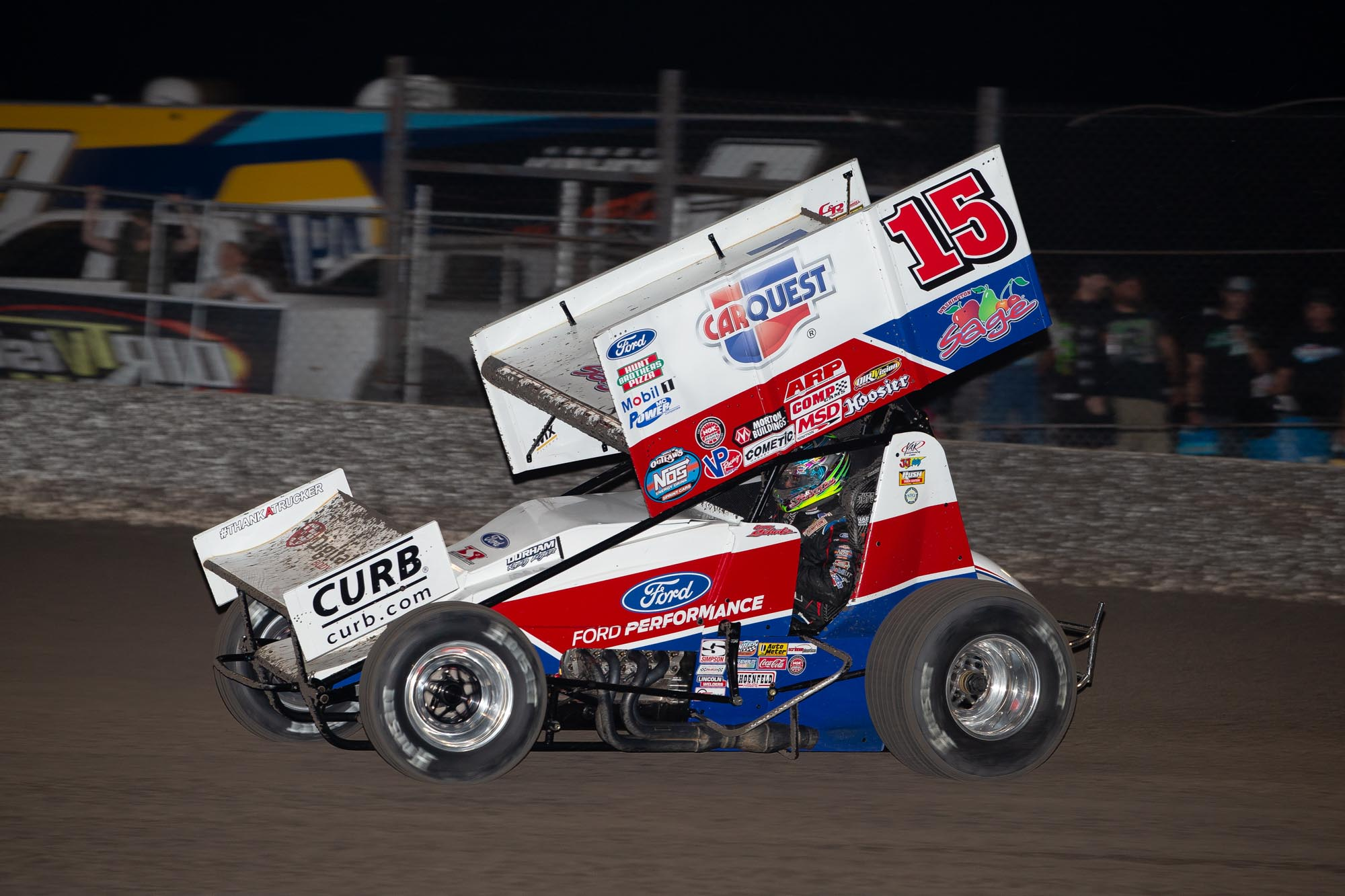donny schatz, tony stewart racing, devils bowl speedway, world of outlaws sprint cars