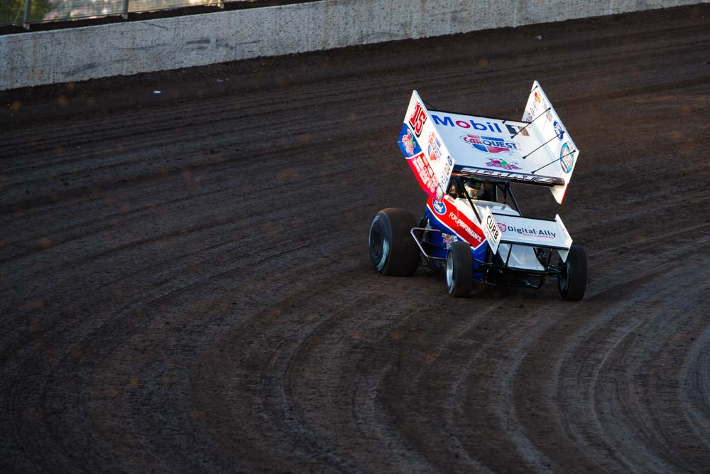 donny schatz, dodge city raceway park, world of outlaws, sprint cars, tony stewart racing