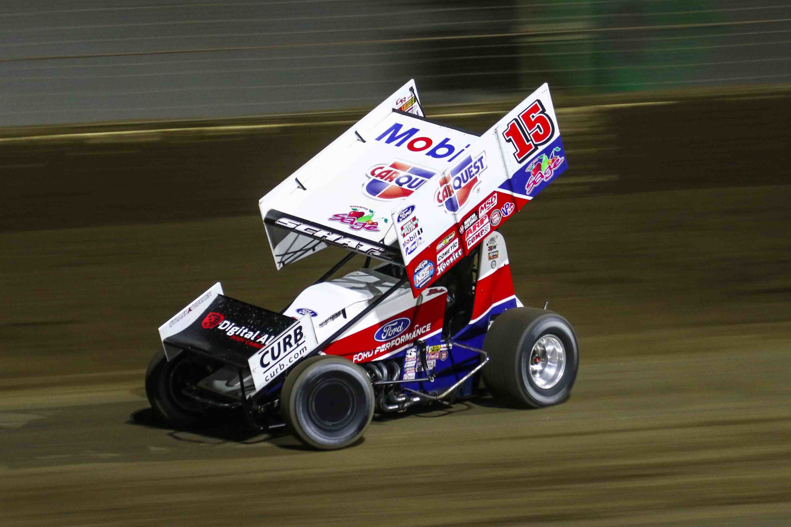 donny schatz, tony stewart racing, world of outlaws, sprint cars