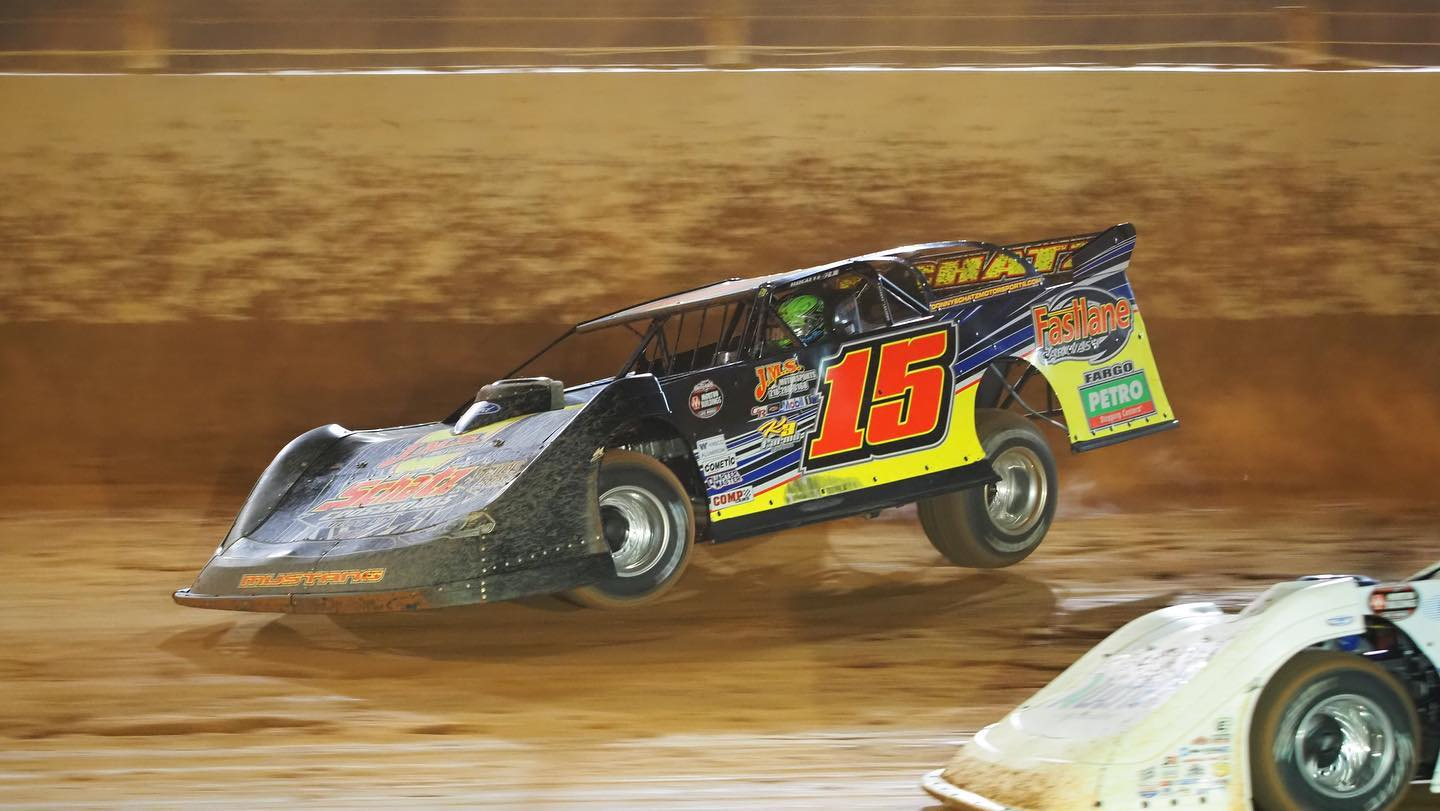 donny schatz, dirt track at charlotte, nlra late models, speedway shots