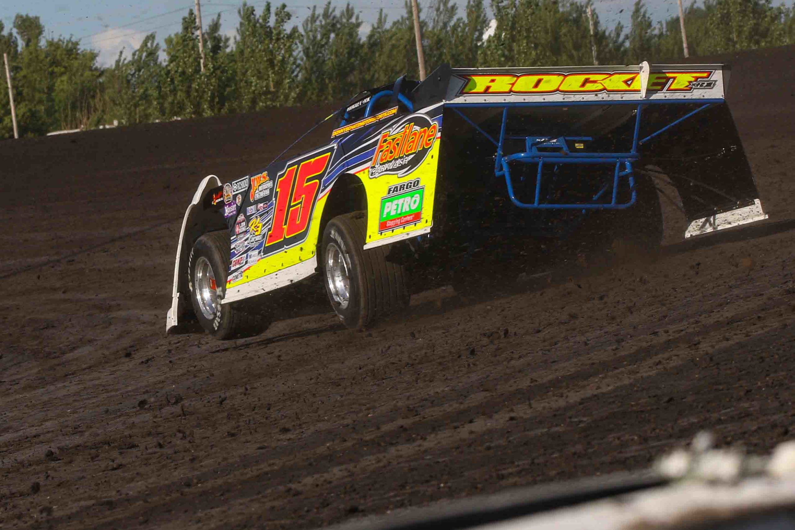 donny schatz, red river valley speedway, nlra late models, speedway shots