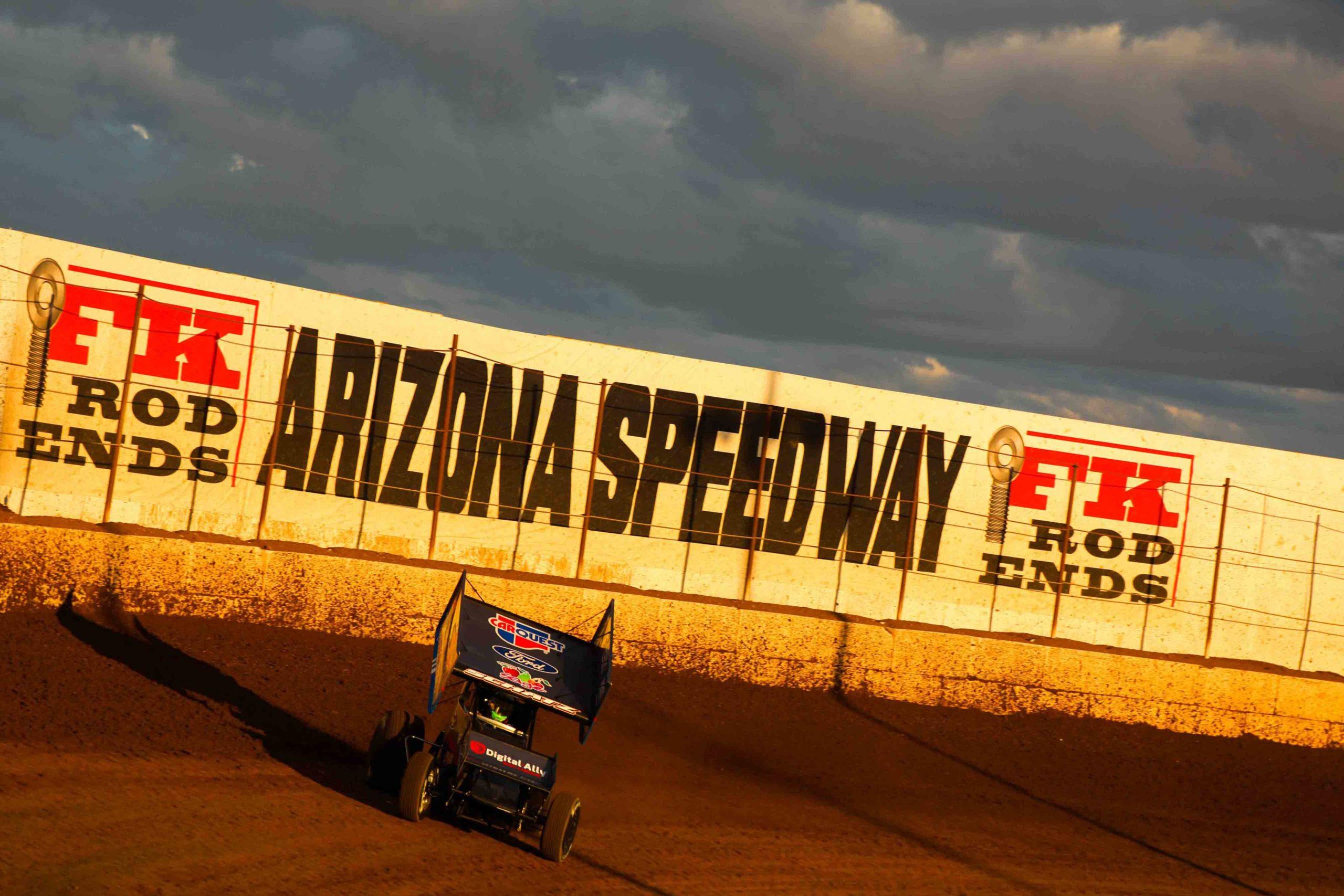 donny schatz, arizona speedway, tony stewart racing