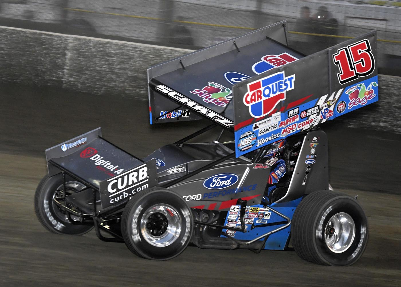donny schatz, volusia speedway park, world of outlaws, sprint cars