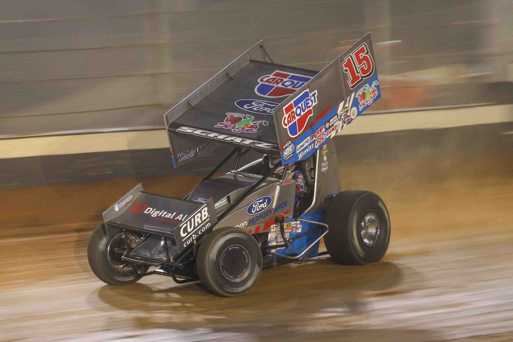 Donny Schatz, bristol motor speedway, world of outlaws