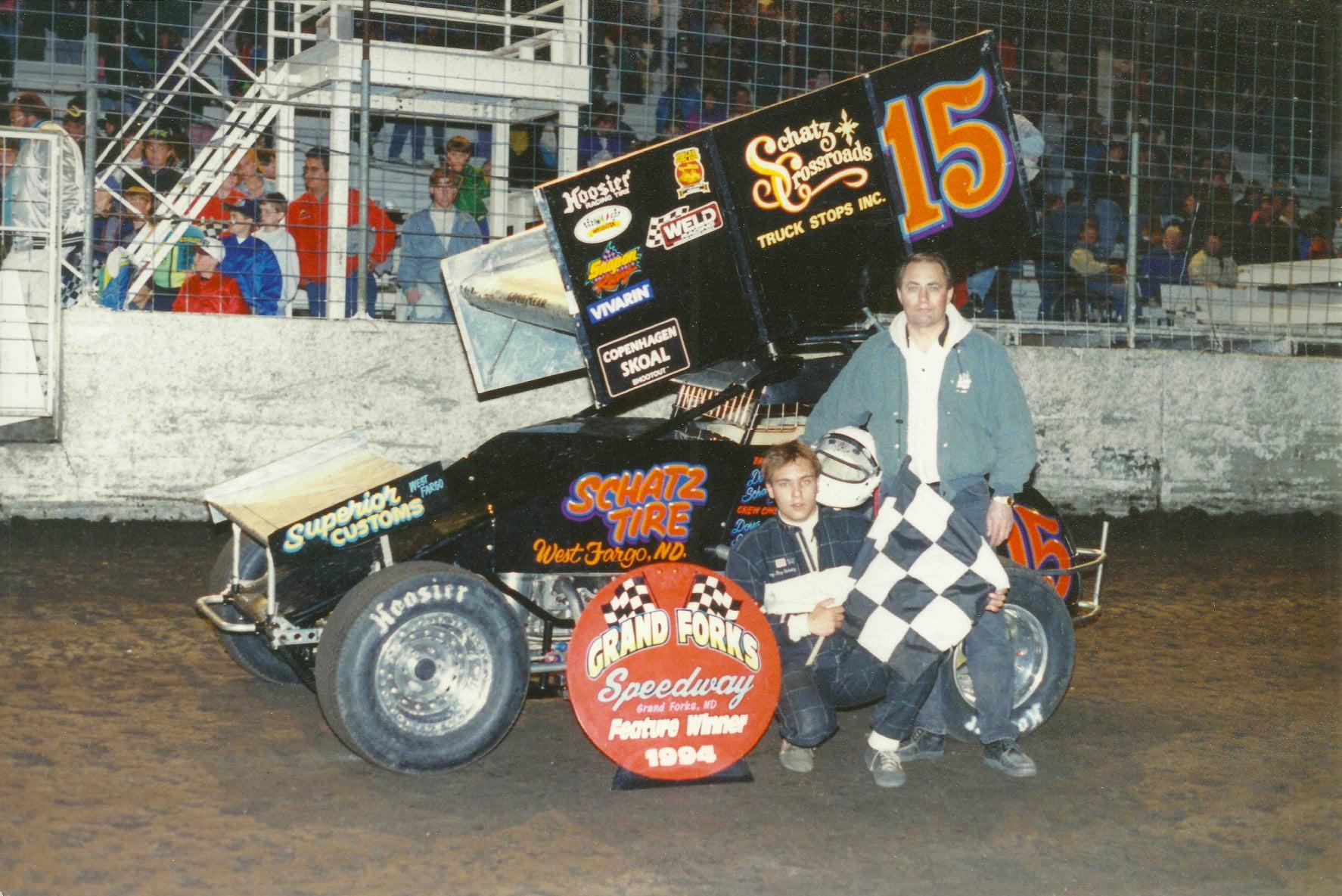 Donny Schatz, NOSA Sprints, Grand Forks Speedway, River Cities Speedway